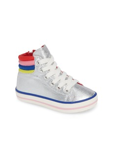 Mini Boden Appliqué High Top Sneaker (Toddler, Little Kid & Big Kid)