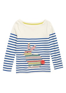 Mini Boden Breton Appliqué Shirt (Toddler Girls, Little Girls & Big Girls)