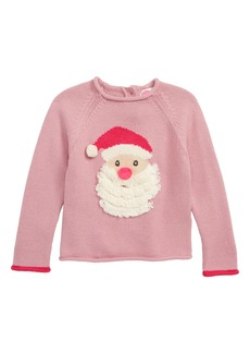 Mini Boden Christmas Day Sweater (Toddler Girls, Little Girls & Big Girls)