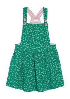 Mini Boden Dungaree Overall Dress (Toddler Girls, Little Girls & Big Girls)
