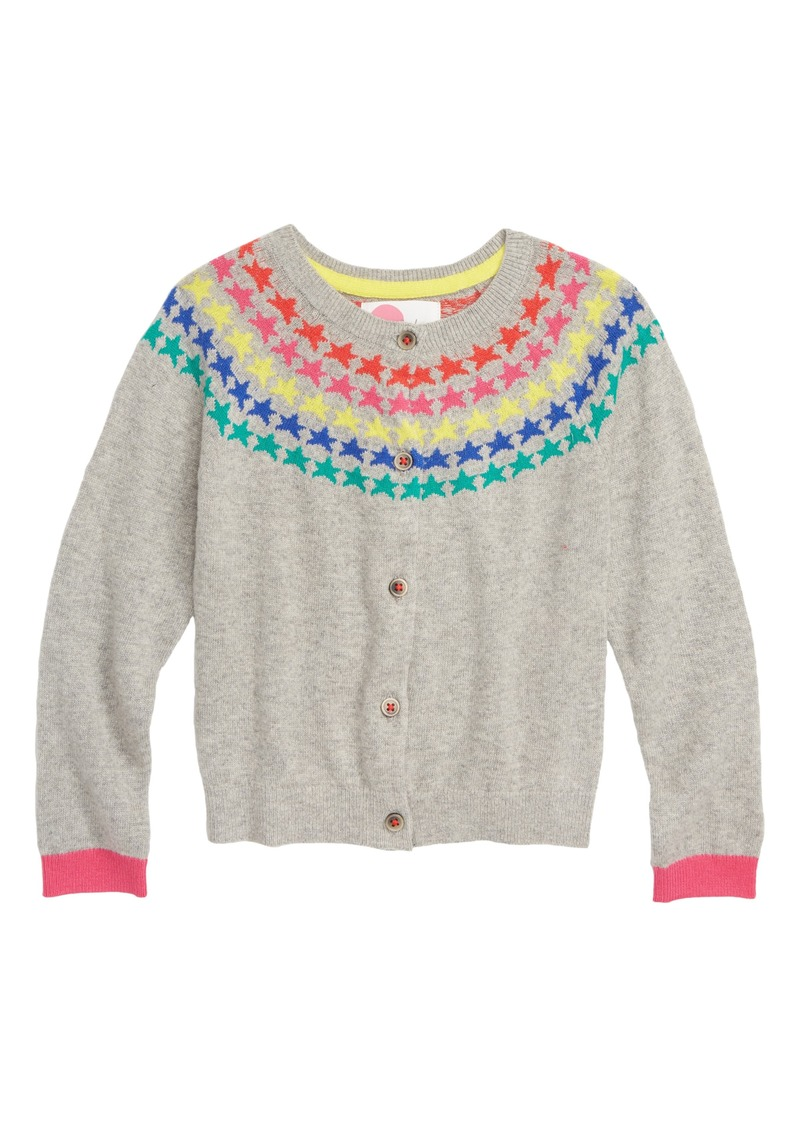 Mini Boden Mini Boden Fair Isle Cardigan Toddler Girls Little