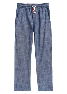 Mini Boden Kids' Smart Chambray Pull-On Pants (Toddler, Little Boy & Big Boy)