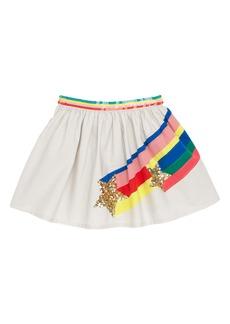 Mini Boden Sequin Appliqué Skirt (Toddler Girls, Little Girls & Big Girls)