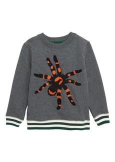 Mini Boden Spooky Sweatshirt (Toddler Boys, Little Boys & Big Boys)