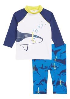 Mini Boden Surf Suit Two-Piece Rashguard Swimsuit (Toddler Boys, Little Boys & Big Boys)