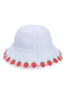 Mini Boden Woven Bucket Hat (Kid)
