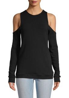 Body Language Nina Cold-Shoulder Pullover