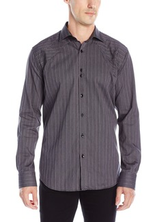 Bogosse Men's Owen 832 Long Sleeve Button Down Shirt