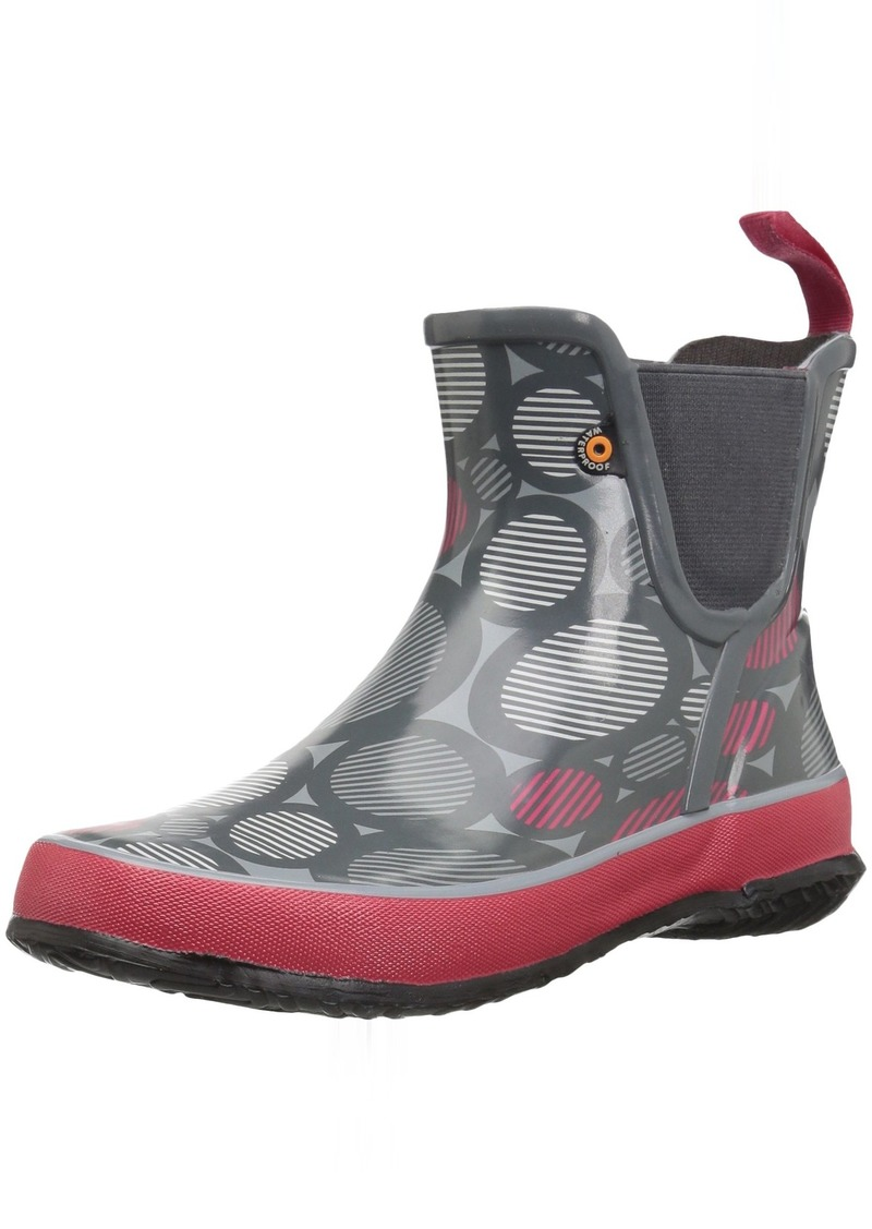 Bogs Amanda Kids/Toddler Waterproof Slip On Rain Boot for Boys and Girls