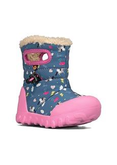 Bogs B-MOC Insulated Faux Fur Waterproof Boot (Baby, Walker, Toddler & Little Kid)