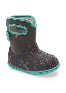 Bogs Baby Bogs Butterflies Insulated Waterproof Boot (Baby, Walker & Toddler)