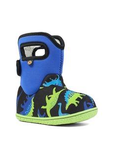 Bogs Baby Bogs Dino Insulated Waterproof Boot (Baby, Walker & Toddler)