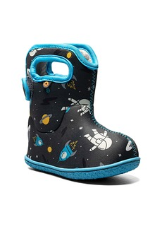 Bogs Baby Bogs Space Print Insulated Waterproof Boot (Baby, Walker & Toddler)