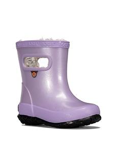 Bogs Glitter Skipper Waterproof Rain Boot (Baby, Walker, Toddler & Little Kid)