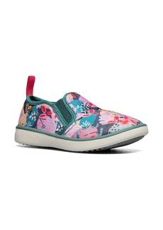 Bogs Kicker Deco Floral Slip-On Sneaker (Baby, Walker & Toddler)