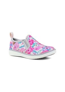 Bogs Kicker Pansies Slip-On Sneaker (Baby, Walker, Toddler & Little Kid)