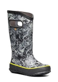 Bogs Micro Camo Waterproof Rain Boot (Walker & Toddler)