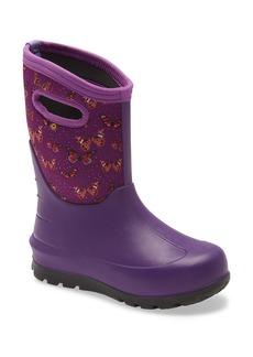 Bogs Neo Classic Butterflies Insulated Waterproof Boot (Walker, Toddler, Little Kid & Big Kid)