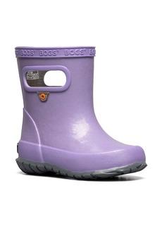 Bogs Skipper Glitter Waterproof Rain Boot (Walker & Toddler)