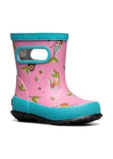 Bogs Skipper Mermaids Waterproof Rain Boot (Walker & Toddler)