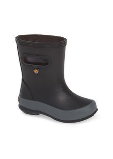 Bogs Skipper Solid Waterproof Rain Boot (Baby, Walker, Toddler, Little Kid & Big Kid)