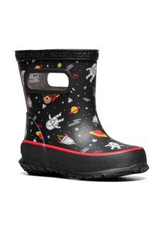 Bogs Skipper Space Man Waterproof Rain Boot (Walker & Toddler)