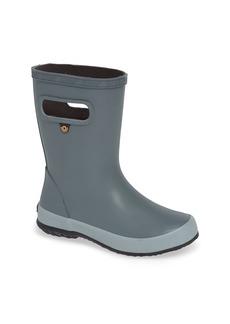 Toddler Boy's Bogs Skipper Solid Waterproof Rain Boot