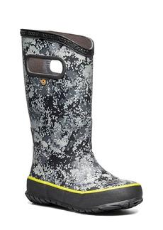 Toddler Boy's Bogs Micro Camo Waterproof Rain Boot