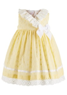 Bonnie Baby Bonne Baby Baby Girls Eyelet Dress