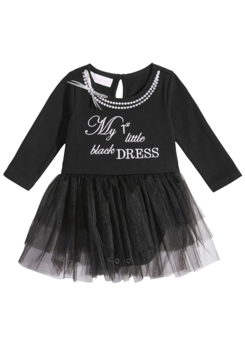 00b744ab1 Bonnie Baby Bonnie Baby 1st Little Black Dress Bodysuit Dress