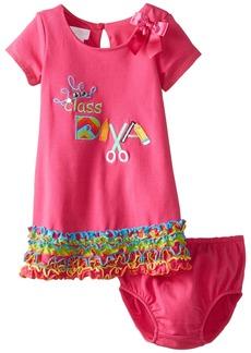 Bonnie Baby Baby Girls' Class Diva Knit Dress  s