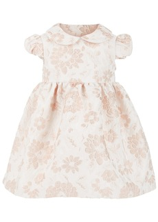 Bonnie Baby Baby Girls Floral-Brocade Dress