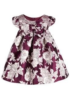 Bonnie Baby Baby Girls Jacquard Trapeze Dress