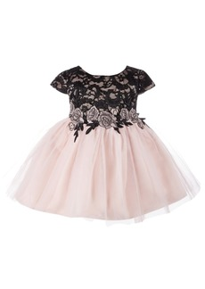 Bonnie Baby Baby Girls Lace & Tulle Ballerina Dress