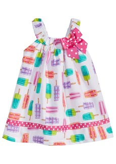 Bonnie Baby Baby Girls Popsicle-Print Cotton Sundress