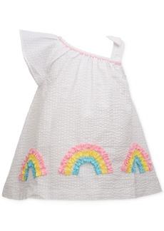 Bonnie Baby Baby Girls Rainbow Seersucker Dress