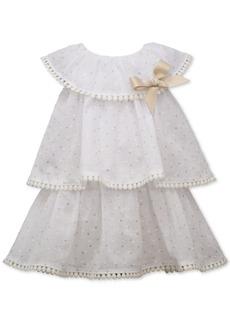 Bonnie Baby Baby Girls Tiered Dress