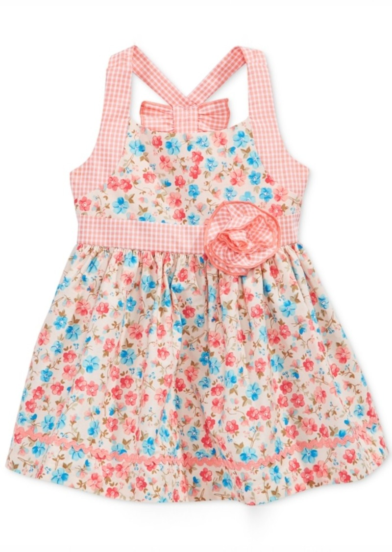 bac01e4df78f Bonnie Baby Bonnie Baby Floral-Print Dress