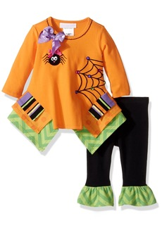 Bonnie Baby Girls' Holiday Dresses and Legging Sets