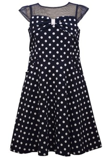 Bonnie Jean Big Girls Short Sleeve A-Line Waistline Dress with Pockets