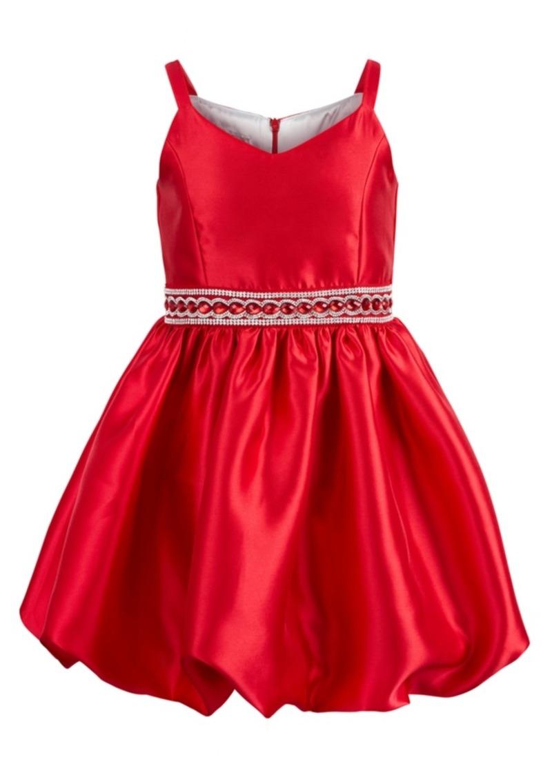 Bonnie Jean Big Girls Embellished Bubble Dress