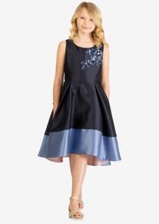 Bonnie Jean Big Girls Embellished Colorblocked Dress