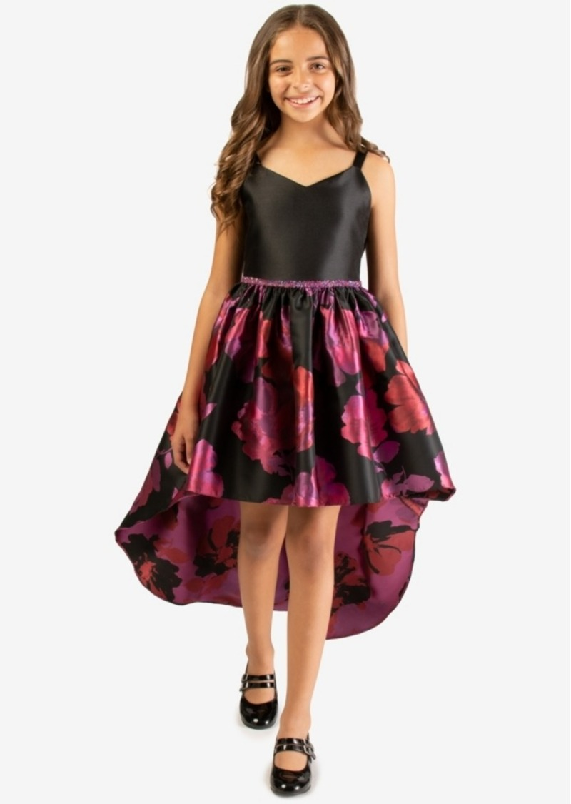 Bonnie Jean Big Girls Embellished High-Low Dress
