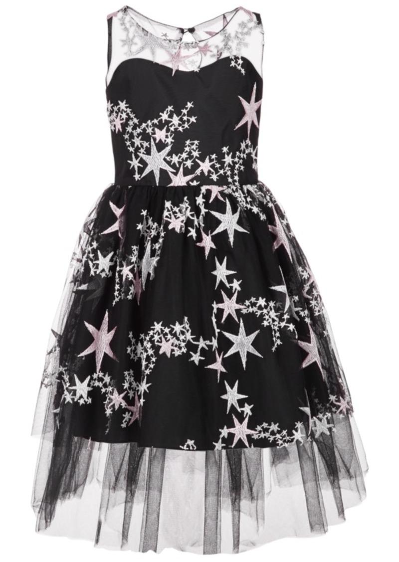 Bonnie Jean Big Girls Embroidered Stars Dress