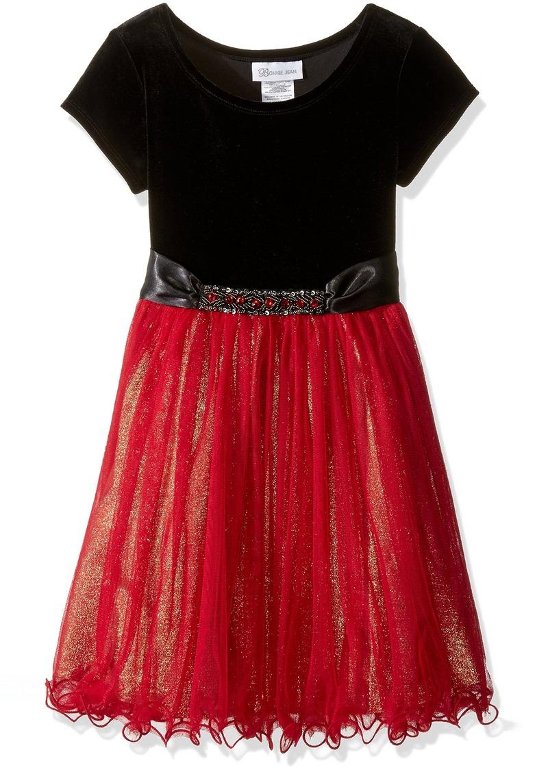 Bonnie Jean Big Girls' Foil Skirt Jewels