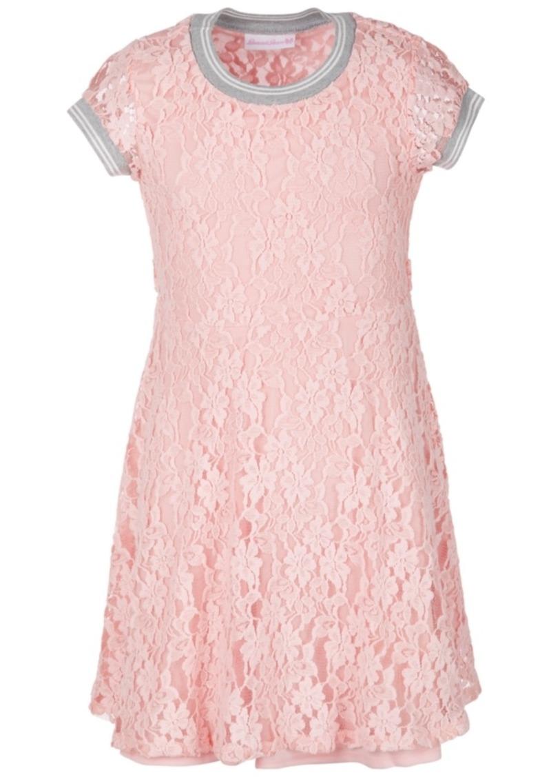 Bonnie Jean Big Girls Lace Athletic Dress