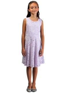 Bonnie Jean Big Girls Lace Skater Dress