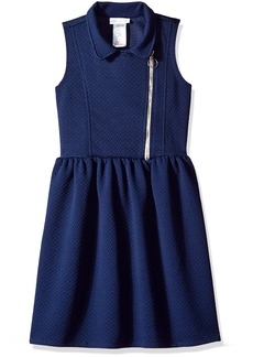 Bonnie Jean Big Girls' Moto Dress