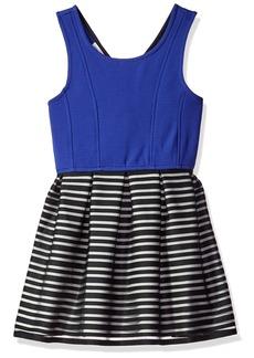 Bonnie Jean Big Girls' Fit and Flare Fashion Dress