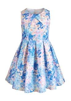 Bonnie Jean Big Girls Pleated Floral Dress